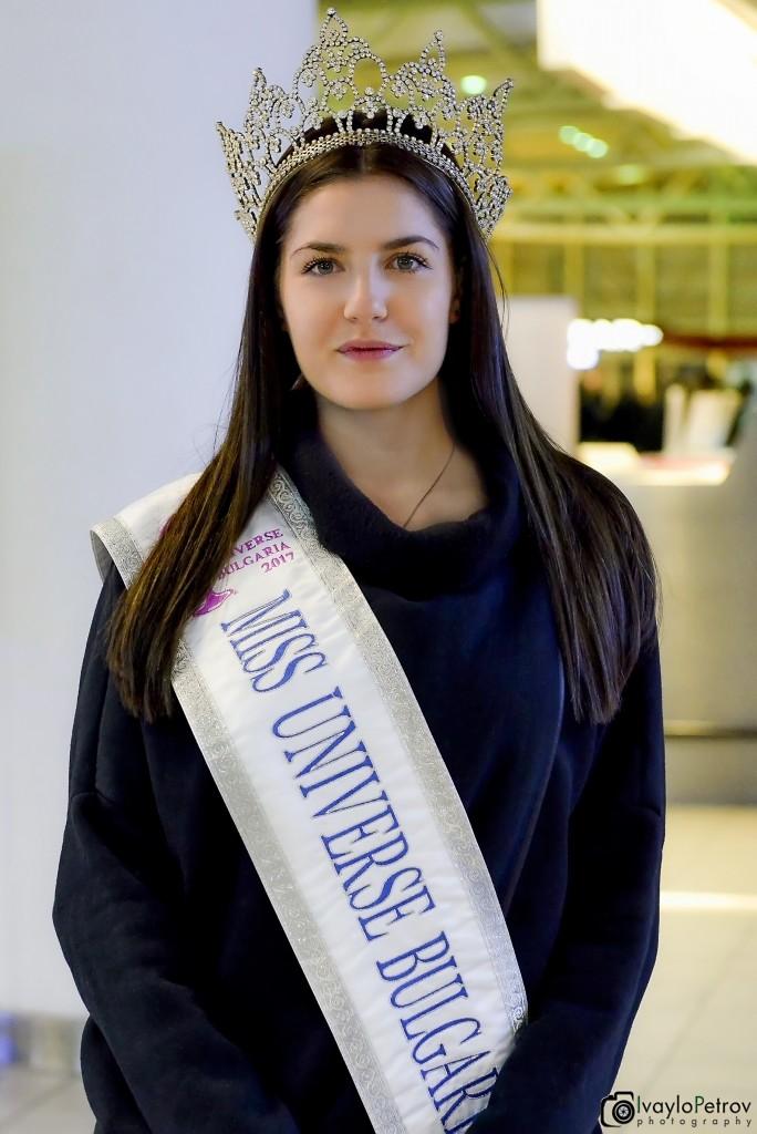 Nikoleta Todorova Miss Universe Bulgaria 2017 (Photo
